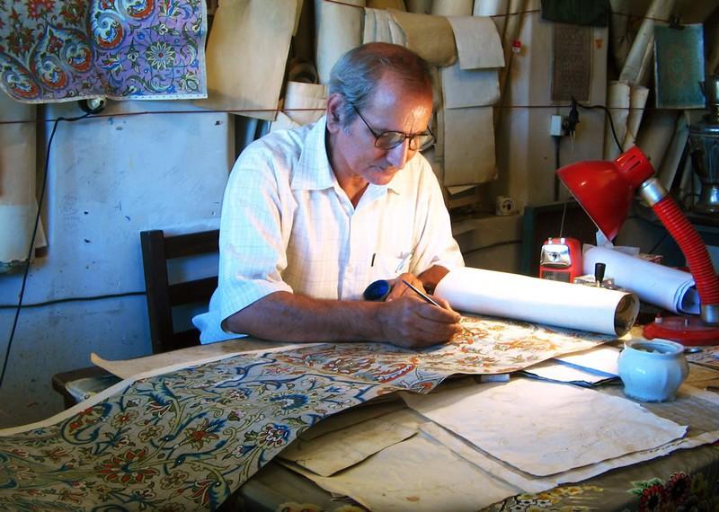 Традиционалне вештине ткања тепиха у Кашану 1
