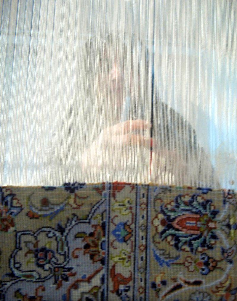 Традиционалне вештине ткања тепиха у Кашану 6