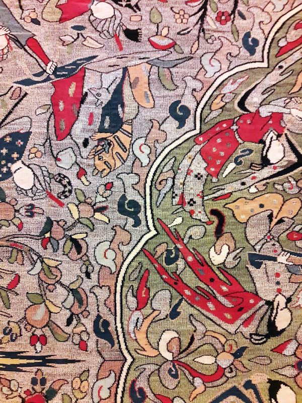 Традиционалне вештине ткања тепиха у Кашану 9